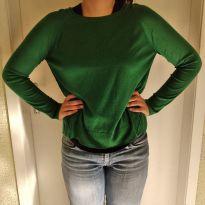 Suéter Zara Verdinho - Desapego da Malu ❤ - 16 anos - Zara