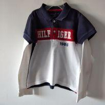 Camisa manga longa Tommy Hilfiger Tam 4 - 4 anos - Tommy Hilfiger