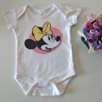 Body manga curta Disney Baby algodão sustentável 0-3 meses - 0 a 3 meses - Disney baby