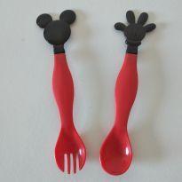 Talheres de plástico Mickey -  - avon
