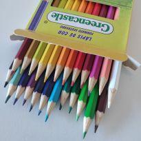 Caixa de lápis de cor 24 cores -  - Marca não registrada