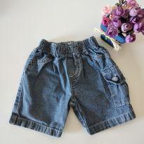 Shorts jeans Yoyo baby tamanho 2