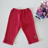 Calça vermelha Bicho Molhado tamanho M - 3 a 6 meses - Bicho Molhado
