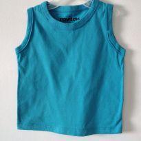 Camiseta regata rovitex Azul tamanho 3 - 3 anos - Rovitex