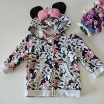 Casaco Fofo Minnie 6-9 M - 6 a 9 meses - C&A e Disney baby