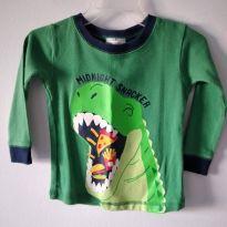 Camiseta manga longa Child of Mine Carter`s - 18 meses - Carter`s e Child of Mine