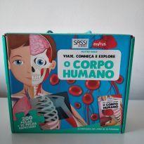 Quebra Cabeça O Corpo Humano - Sassi Science - Matteo Gaule -  - Italia