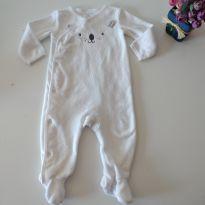 Macacão Branco Ursinho da Carter`s 9 M - 9 meses - Carter`s