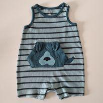 Macacão romper da Baby GAP 0-3 meses - 0 a 3 meses - Baby Gap