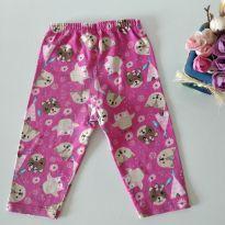 Calça bichinhos fofos tamanho M baby - 3 a 6 meses - Cortei etiqueta e etiqueta foi cortada