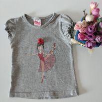 Camiseta fofa menina dançarina tamanho 2 - 2 anos - Kidkind e DIONES CONFECÇÕES