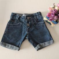 Shorts Jeans Bicho Solto Tam 1 - 1 ano - Bicho Solto