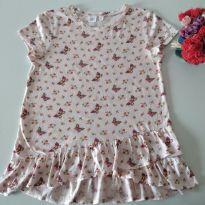 Camiseta Floral & Butterfly da Gap Kids tamanho 12 - 12 anos - Gap Kids
