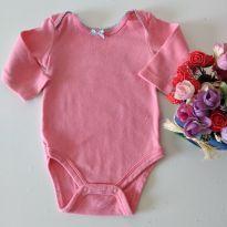 Body Rosinha da Teddy Boom 0- 3 meses - 0 a 3 meses - Teddy Boom