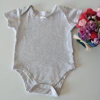 Body Cinzinha da Teddy Boom 6-9 meses - 6 a 9 meses - Teddy Boom