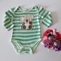 Body Baby Club Mini Coala ❤ Amei - 6 a 9 meses - Baby Club e Baby Club Original