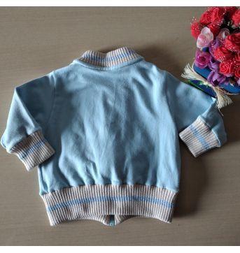 Casaco Trielo Baby Moletom 3-6 M - 3 a 6 meses - TRIELO e Trielo Baby