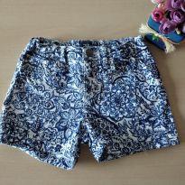 Shorts Floral Gap Kids Tam 10 - 4 anos - Gap Kids