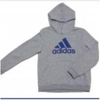 MOLETOM FECHADO COM CAPUZ - ADIDAS - 12 anos - Adidas