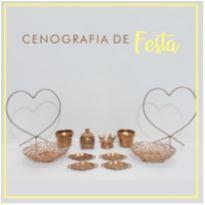 CENOGRAFIA DE FESTA - PRÍNCIPE E PRINCESA -  - Não informada