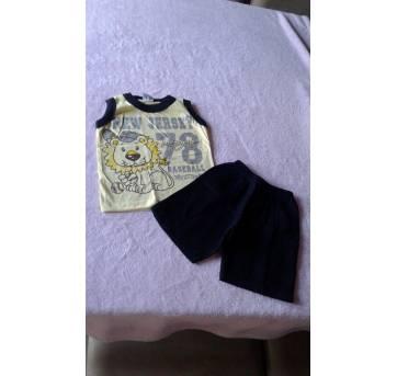 Conjunto leãozinho - 2 anos - Malugui