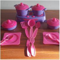 Kit Conjunto De Cozinha Com 14 Peças Brinquedo Infantil -  - Sem marca