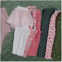 Lote calças Carter`s e outras marcas - 6 a 9 meses - Carter`s e Hering