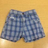 Shorts Jeans Lee - 12 a 18 meses - Lee