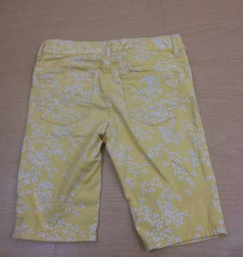Shorts Jeans Amarelo - 8 anos - GAP