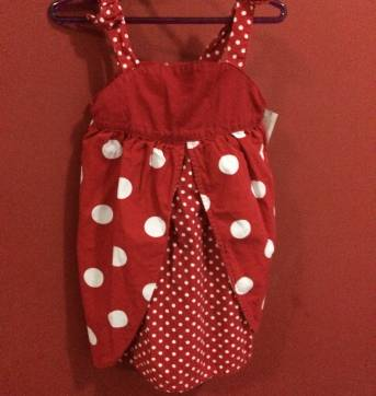 Lindo Vestido Vermelho  GYMBOREE - 1 ano - Gymboree