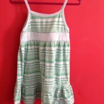 Vestido Baby Gap Verde, uma fofura. - 12 a 18 meses - Baby Gap