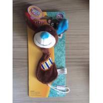 Prendedor para chupeta de Pelúcia Nûby Pacifier Promoção -  - Nuby USA