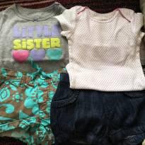 Lote 12 Meses Carter's, Lilica Repilica Baby 09 peças - 1 ano - Lilica Ripilica Baby e Carter`s