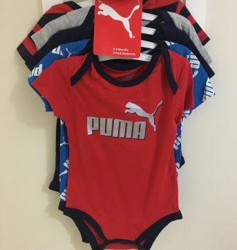 Kit Body Puma lindo - 6 a 9 meses - Puma