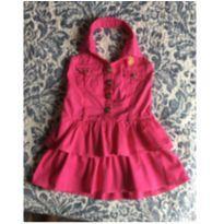 Vestido Rosa Lindo Polo - 3 anos - US Polo Assn