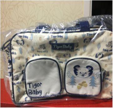 Bolsa Maternidade Grande Tigor T Tigre - Sem faixa etaria - Tigor T.  Tigre