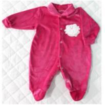 Macacão de Plush Pink - 9 meses - Carollina baby acessórios