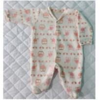 Macacão de Soft Corujinhas - 9 meses - Carollina baby acessórios