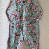 Macacão Pijama soft RN Tip Top - Recém Nascido - Tip Top