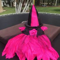Vestido de Bruxa linda!! - 4 anos - Fantasias  Sulamericana