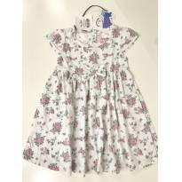 Vestido florido TIP TOP tam 12m+ - 12 a 18 meses - Tip Top