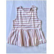 Blusinha listrada rosa 7 FOR ALL MANKIND - 2 anos - Seven for all Mankind