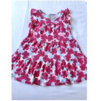 Vestido florido pink Poim 2 anos - 18 a 24 meses - Poim, Cherokee e Up Baby