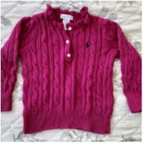 Casaco pink Ralph Lauren - 18 a 24 meses - Ralph Lauren