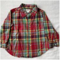 Camisa xadrez lindona RALPH LAUREN - 18 a 24 meses - Ralph Lauren