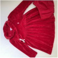 Vestido veludo quentinho RALPH LAUREN - 18 meses - Ralph Lauren