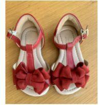 Sandália vermelha - 20 - Lupie