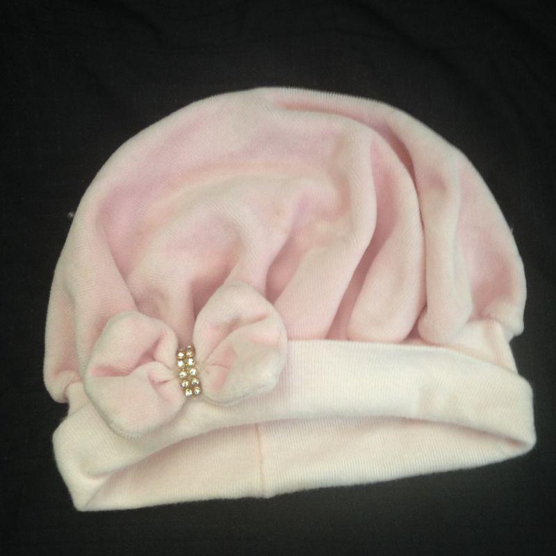 b30c58815f93c Touca Bebe Rosa Plush no Ficou Pequeno - Desapegos de Acessórios ...