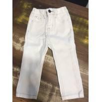 Calça jeans branquinha - 18 a 24 meses - Baby Gap