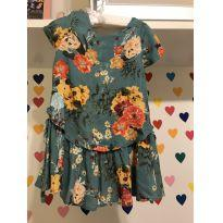 Vestido floral Tyrol - 24 a 36 meses - Tyrol